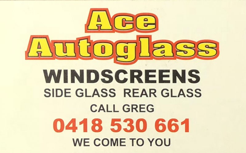 Ace Autoglass Bus Card