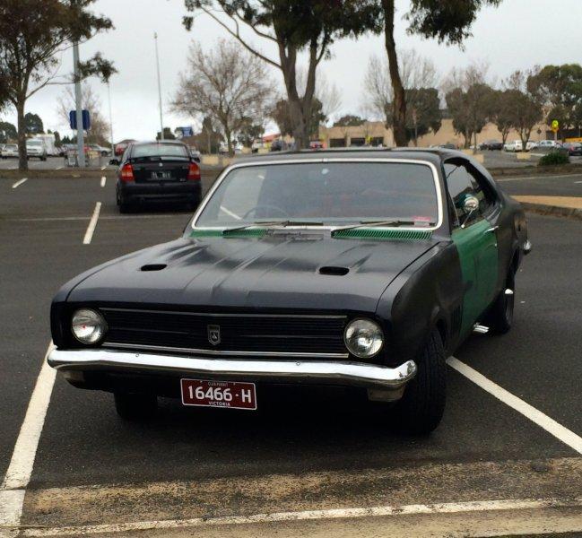Frey's car